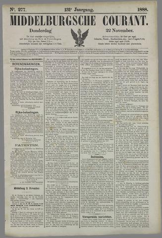 Middelburgsche Courant 1888-11-22