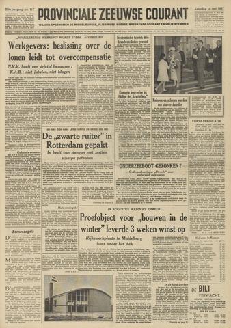 Provinciale Zeeuwse Courant 1957-05-18