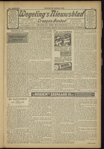 Zeeuwsch Nieuwsblad/Wegeling's Nieuwsblad 1929-01-25