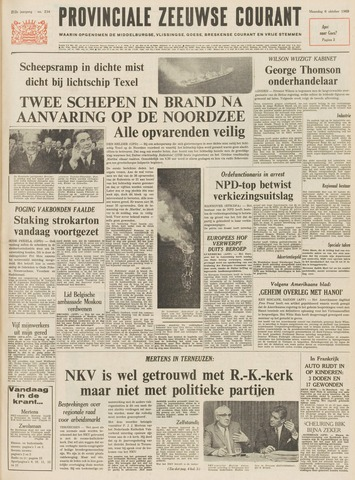Provinciale Zeeuwse Courant 1969-10-06