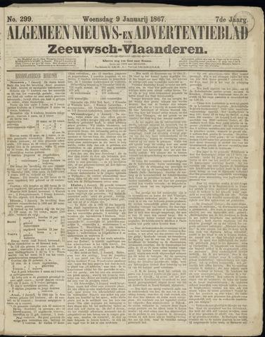Ter Neuzensche Courant. Algemeen Nieuws- en Advertentieblad voor Zeeuwsch-Vlaanderen / Neuzensche Courant ... (idem) / (Algemeen) nieuws en advertentieblad voor Zeeuwsch-Vlaanderen 1867-01-09
