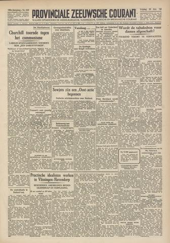 Provinciale Zeeuwse Courant 1946-10-25