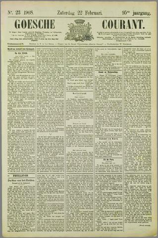 Goessche Courant 1908-02-22
