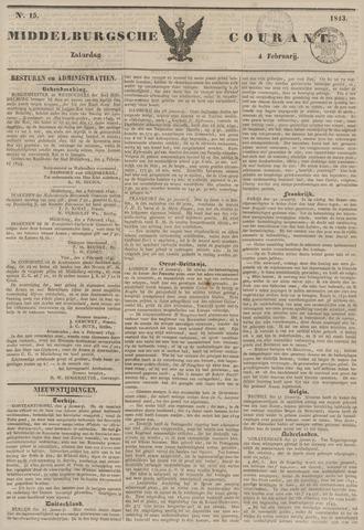 Middelburgsche Courant 1843-02-04