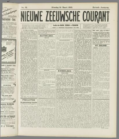 Nieuwe Zeeuwsche Courant 1911-03-14