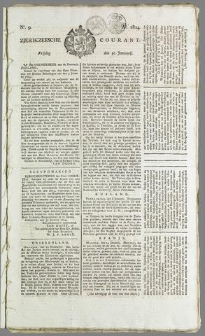 Zierikzeesche Courant 1824-01-30
