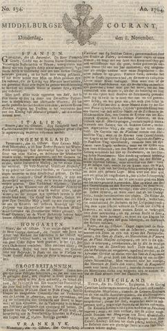 Middelburgsche Courant 1764-11-08