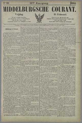 Middelburgsche Courant 1884-02-15