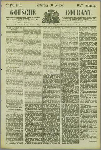 Goessche Courant 1915-10-30