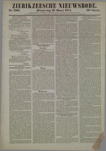 Zierikzeesche Nieuwsbode 1874-03-26