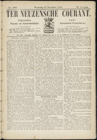 Ter Neuzensche Courant. Algemeen Nieuws- en Advertentieblad voor Zeeuwsch-Vlaanderen / Neuzensche Courant ... (idem) / (Algemeen) nieuws en advertentieblad voor Zeeuwsch-Vlaanderen 1879-12-17
