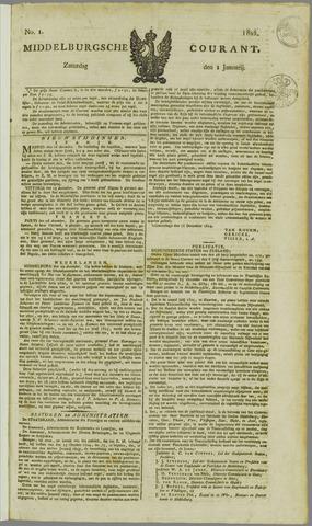 Middelburgsche Courant 1825