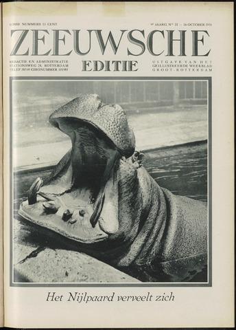 Ons Zeeland / Zeeuwsche editie 1931-10-16