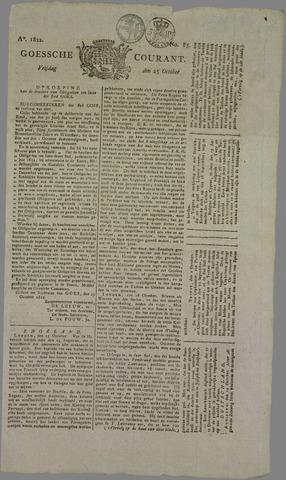Goessche Courant 1822-10-25