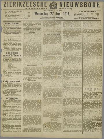 Zierikzeesche Nieuwsbode 1917-06-27