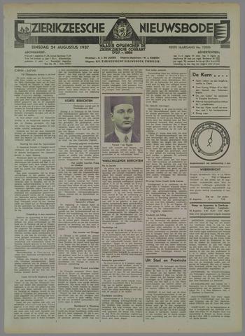 Zierikzeesche Nieuwsbode 1937-08-24