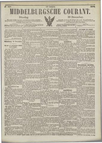 Middelburgsche Courant 1899-12-19