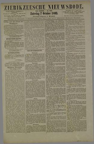 Zierikzeesche Nieuwsbode 1893-10-07