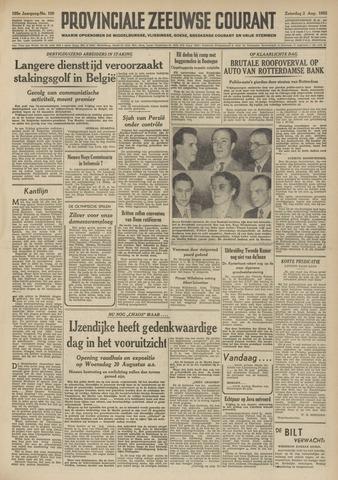 Provinciale Zeeuwse Courant 1952-08-02