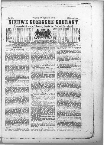 Nieuwe Goessche Courant 1876-09-29