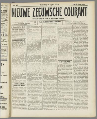 Nieuwe Zeeuwsche Courant 1907-04-20