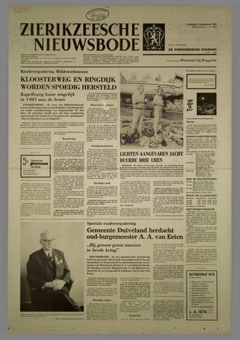 Zierikzeesche Nieuwsbode 1982-09-17