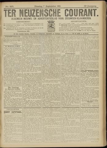 Ter Neuzensche Courant. Algemeen Nieuws- en Advertentieblad voor Zeeuwsch-Vlaanderen / Neuzensche Courant ... (idem) / (Algemeen) nieuws en advertentieblad voor Zeeuwsch-Vlaanderen 1915-09-07