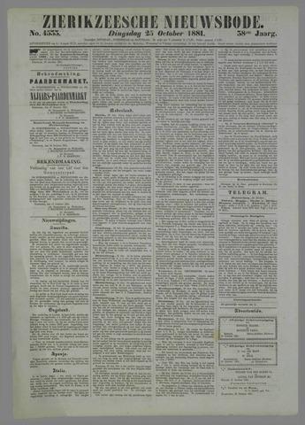 Zierikzeesche Nieuwsbode 1881-10-25