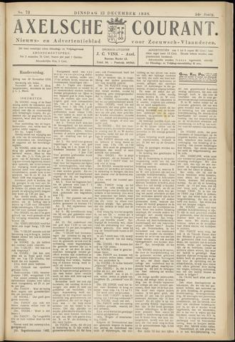 Axelsche Courant 1938-12-13