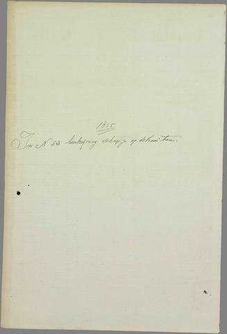 Goessche Courant 1855