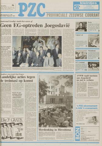 Provinciale Zeeuwse Courant 1991-08-07