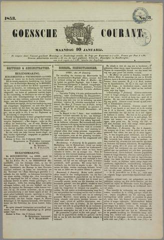 Goessche Courant 1853-01-10