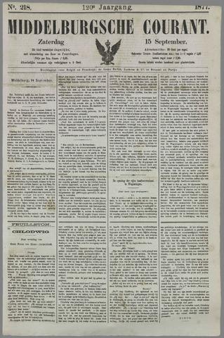 Middelburgsche Courant 1877-09-15