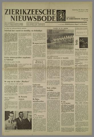 Zierikzeesche Nieuwsbode 1963-02-28