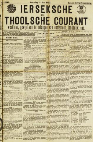 Ierseksche en Thoolsche Courant 1915-07-03