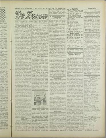 De Zeeuw. Christelijk-historisch nieuwsblad voor Zeeland 1943-01-29