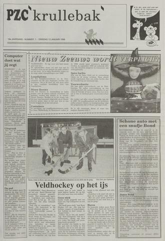Provinciale Zeeuwse Courant katern Krullenbak (1981-1999) 1998