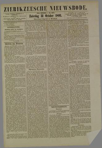Zierikzeesche Nieuwsbode 1891-10-31