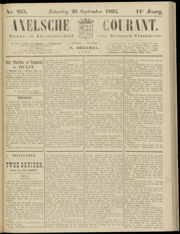 Axelsche Courant 1895-09-28