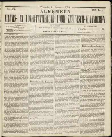 Ter Neuzensche Courant. Algemeen Nieuws- en Advertentieblad voor Zeeuwsch-Vlaanderen / Neuzensche Courant ... (idem) / (Algemeen) nieuws en advertentieblad voor Zeeuwsch-Vlaanderen 1870-12-21