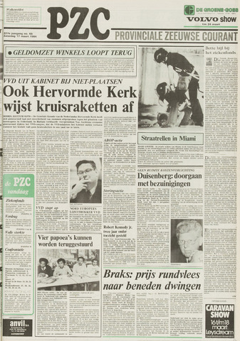 Provinciale Zeeuwse Courant 1984-03-17