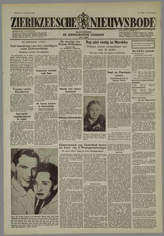 Zierikzeesche Nieuwsbode 1955-08-30