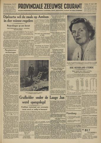 Provinciale Zeeuwse Courant 1950-04-28