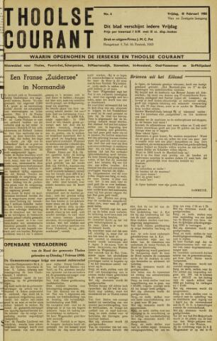 Ierseksche en Thoolsche Courant 1950-02-10