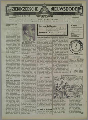 Zierikzeesche Nieuwsbode 1937-05-05