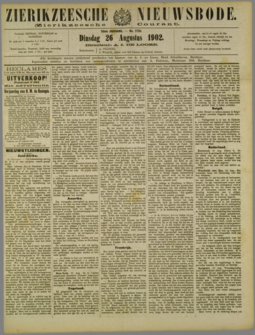 Zierikzeesche Nieuwsbode 1902-08-26