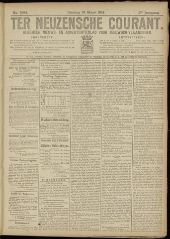 Ter Neuzensche Courant. Algemeen Nieuws- en Advertentieblad voor Zeeuwsch-Vlaanderen / Neuzensche Courant ... (idem) / (Algemeen) nieuws en advertentieblad voor Zeeuwsch-Vlaanderen 1918-03-26