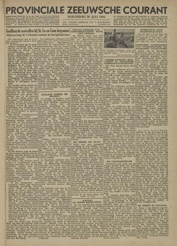 Provinciale Zeeuwse Courant 1944-07-26
