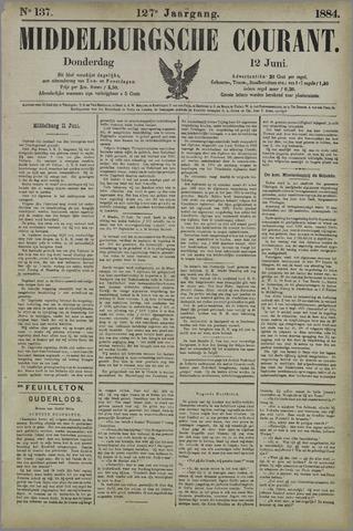 Middelburgsche Courant 1884-06-12