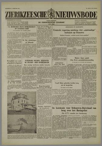 Zierikzeesche Nieuwsbode 1958-02-13
